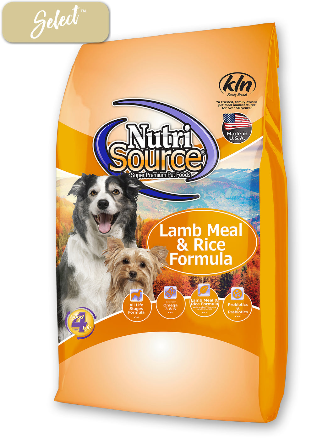 Nutrisource Lamb Meal and Rice Dog Food