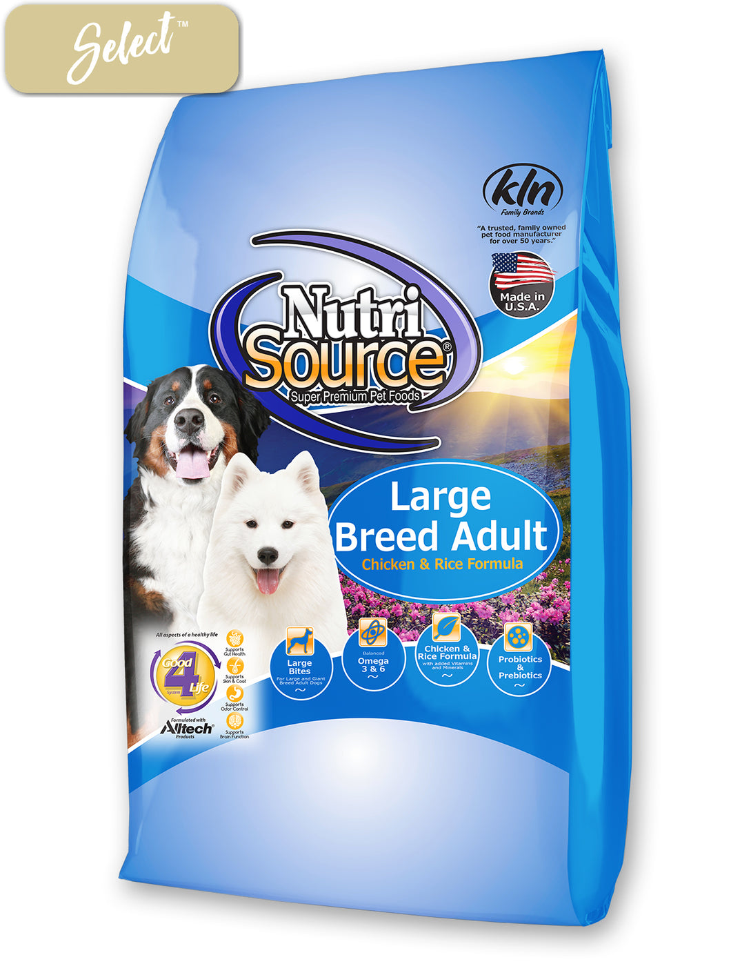 Nutrisource Large Breed Adult Chicken and Rice Dog Food