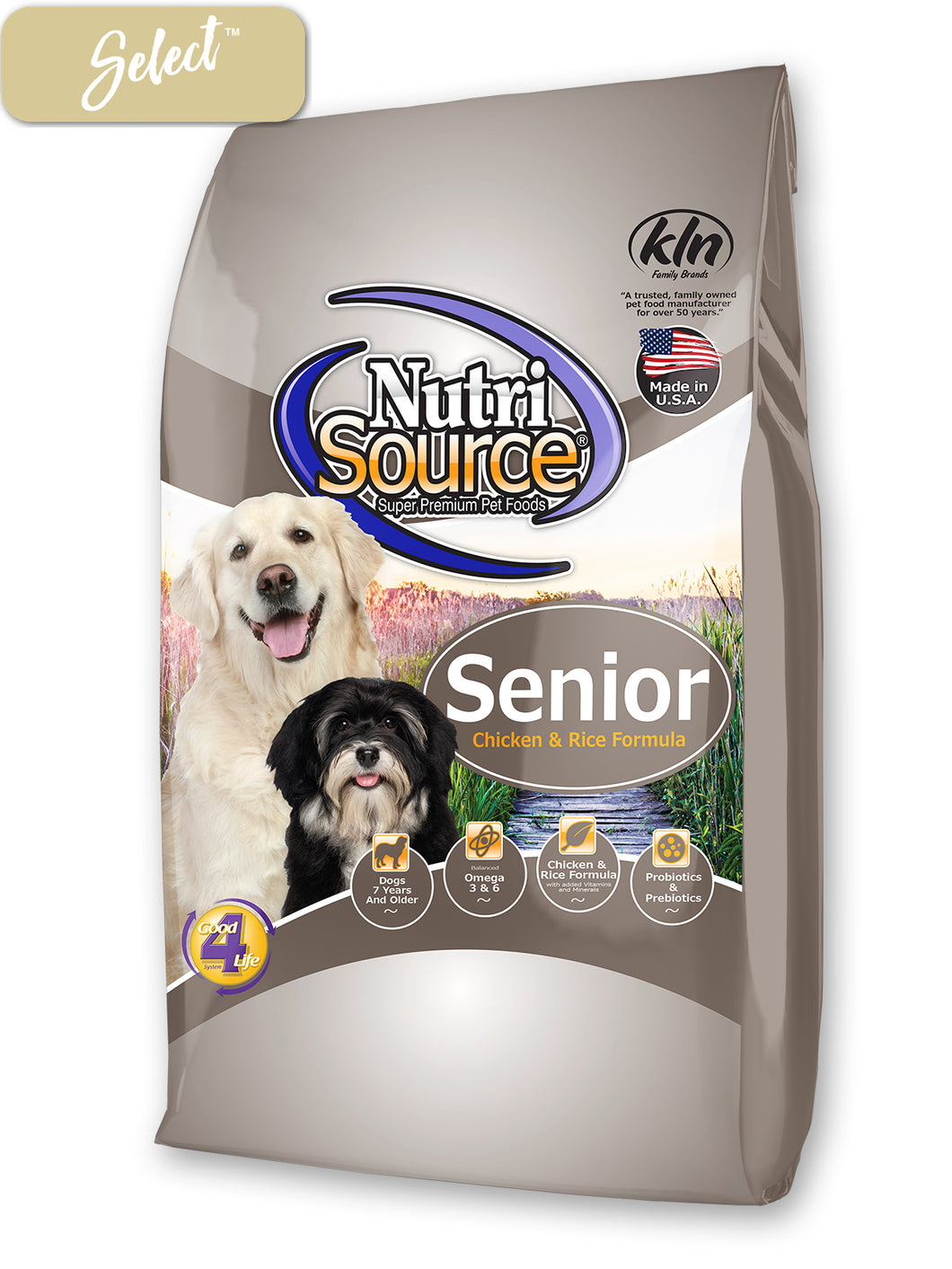 Nutrisource Senior Chicken and Rice Dog Food