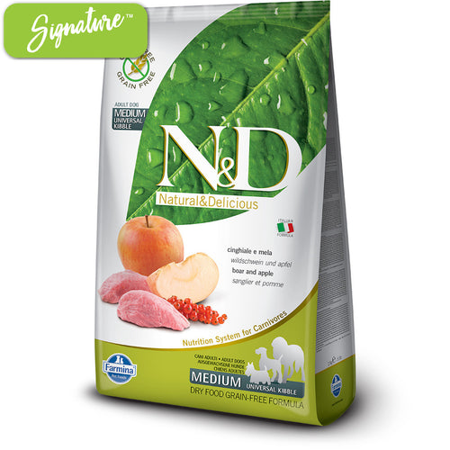 N&D Boar and Apple Dog Food