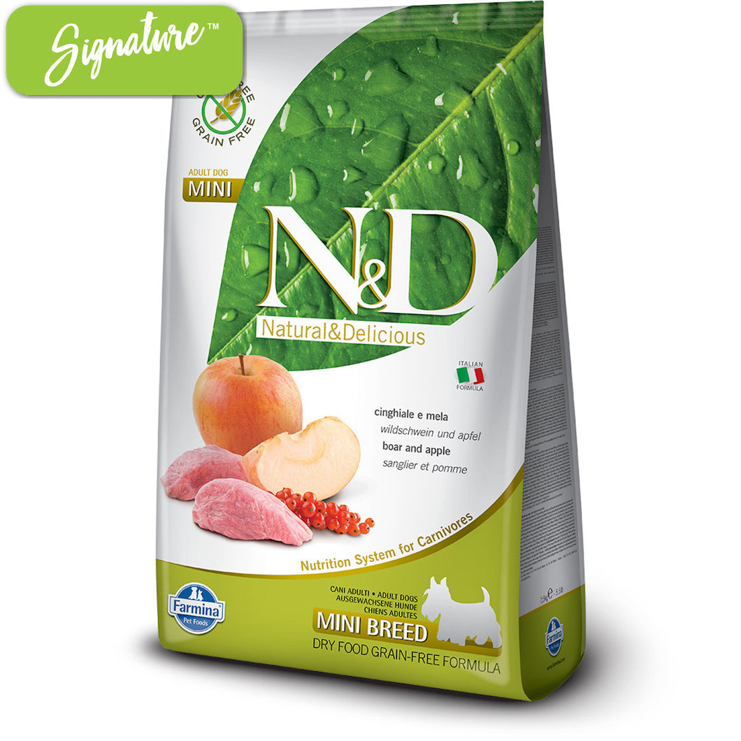 N&D Boar and Apple Small Dog Food