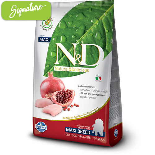 N&D Chicken and Pomegranate Large Puppy Food