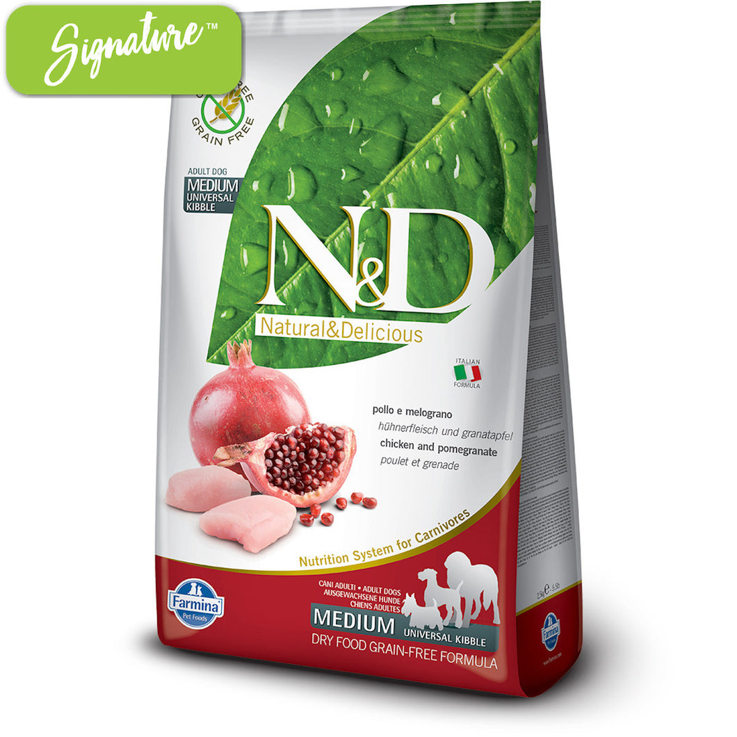 N&D Chicken and Pomegranate Dog Food