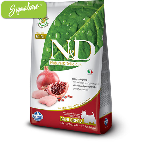 N&D Chicken and Pomegranate Small Dog Food