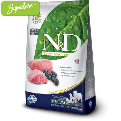 N&D Lamb and Blueberry Dog Food
