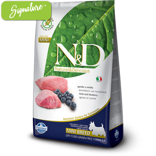 N&D Lamb and Blueberry Small Dog Food