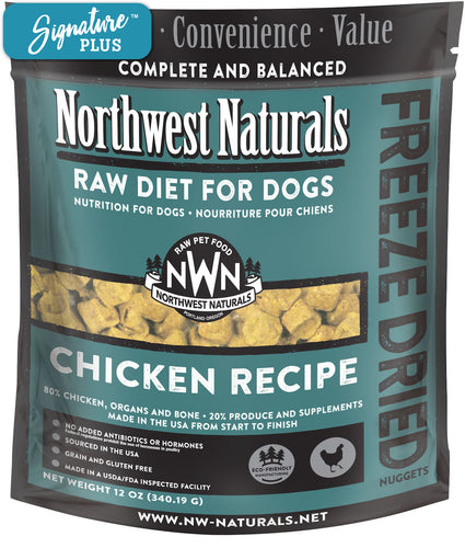 Northwest Naturals Chicken Freeze Dried Dog Food