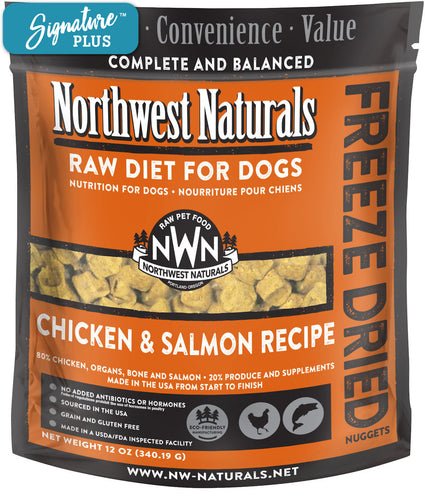 Northwest Naturals Chicken and Salmon Freeze Dried Dog Food