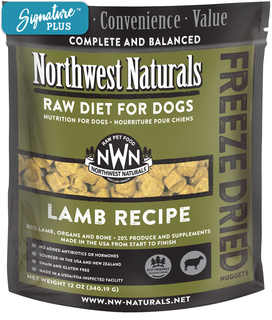 Northwest Naturals Lamb Freeze Dried Dog Food