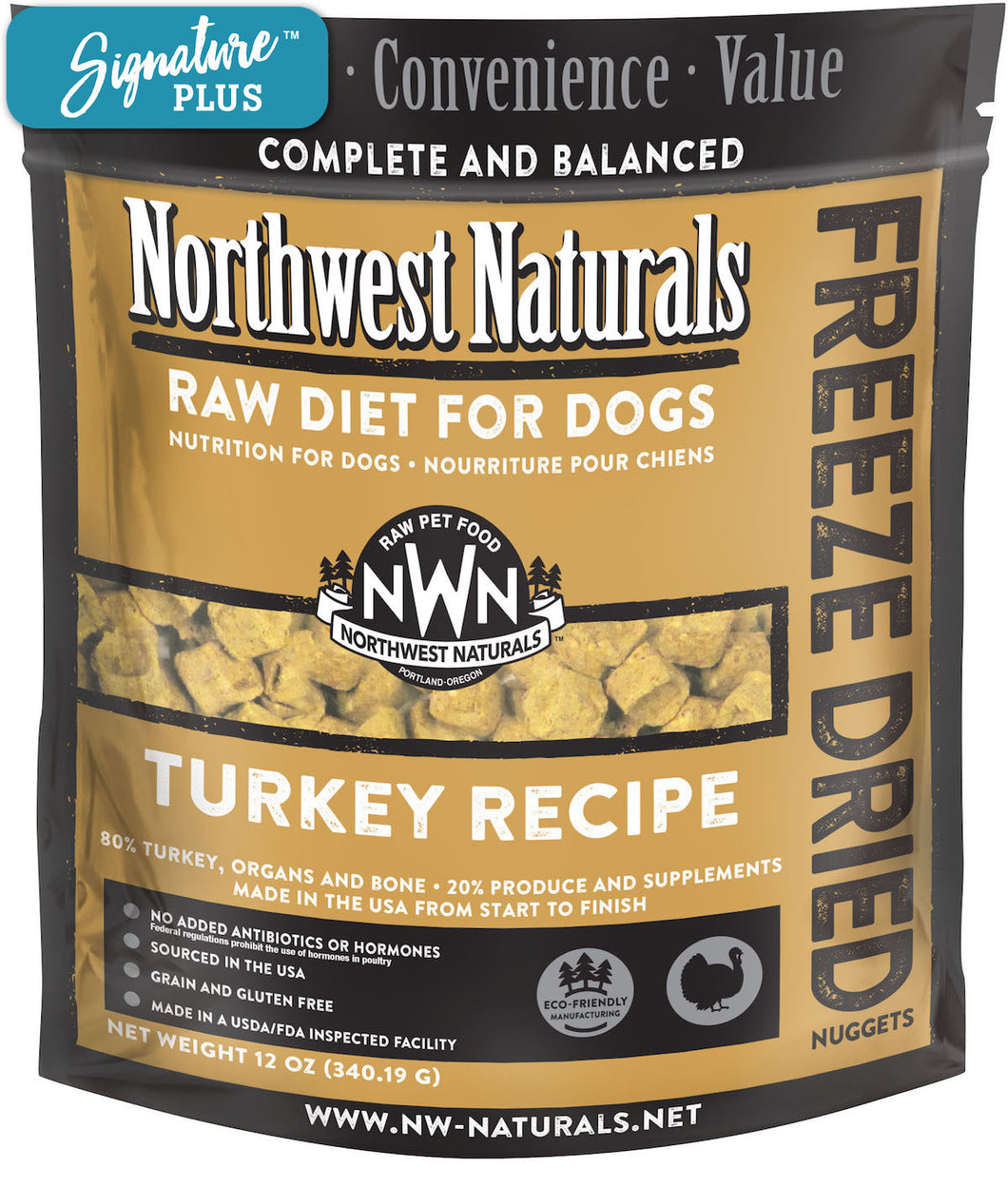 Northwest Naturals Turkey Freeze Dried Dog Food