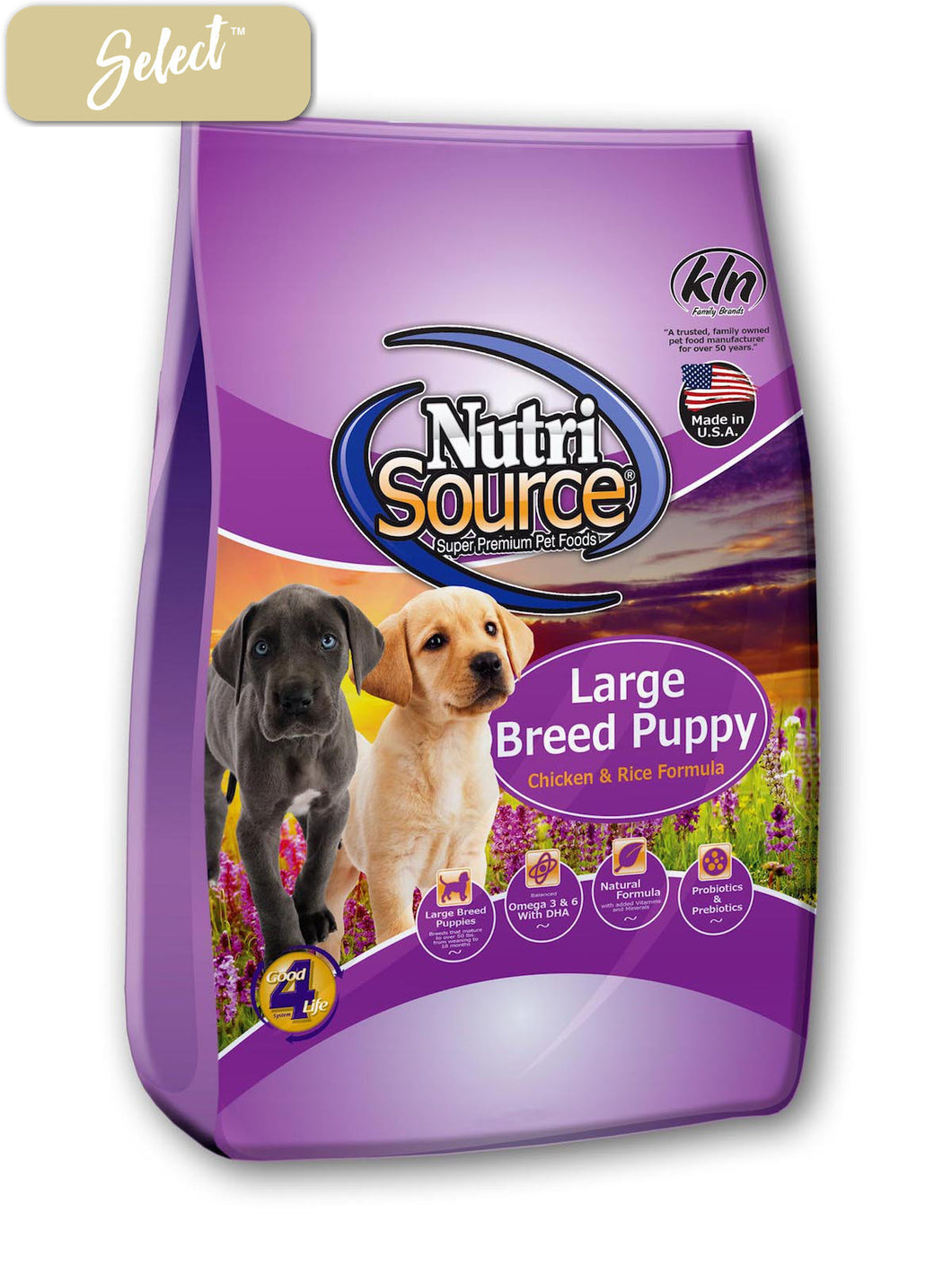 Nutrisource Chicken and Rice Large Breed Puppy Food