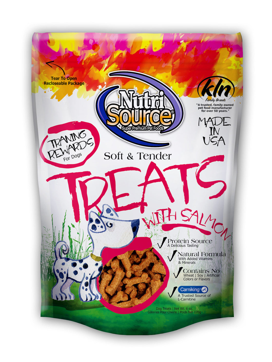 Nutrisource Soft And Tender Treats Made With Salmon Dog Treats