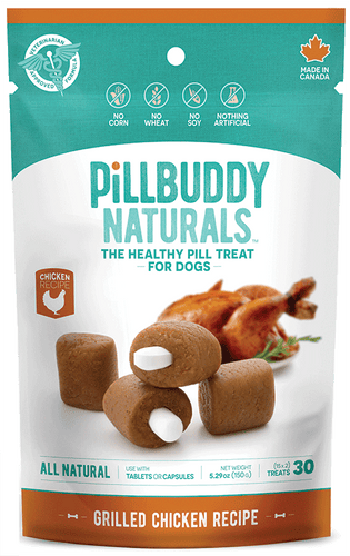 Pill Buddy Grilled Chicken Dog Treats