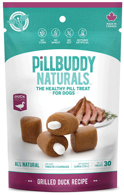 Pill Buddy Grilled Duck Dog Treats