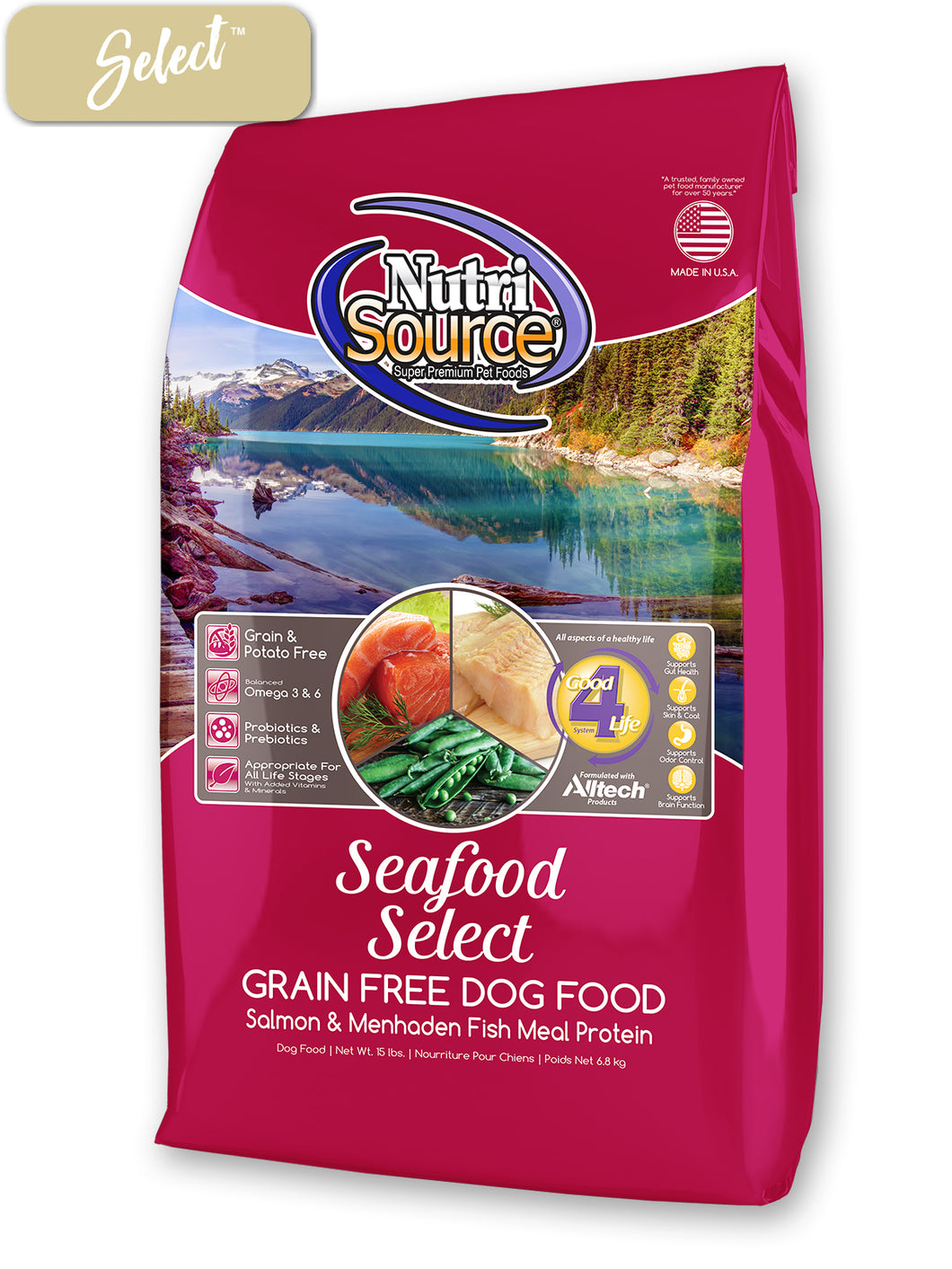 Nutrisource Seafood Select Dog Food