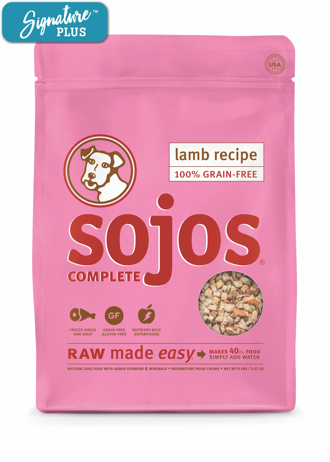 Sojos Complete Lamb Dog Food