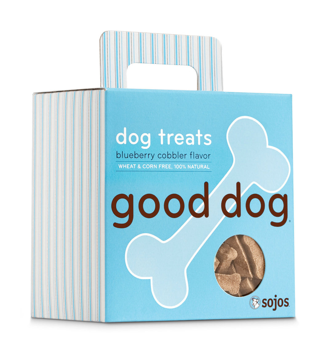 Sojos Good Dog Blueberry Cobbler Dog Treats