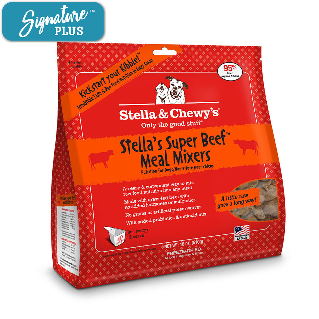 Stella and Chewy's Beef Meal Mixer Freeze Dried Dog Food