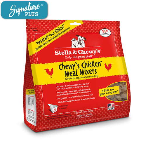 Stella and Chewy's Chicken Meal Mixer Freeze Dried Dog Food