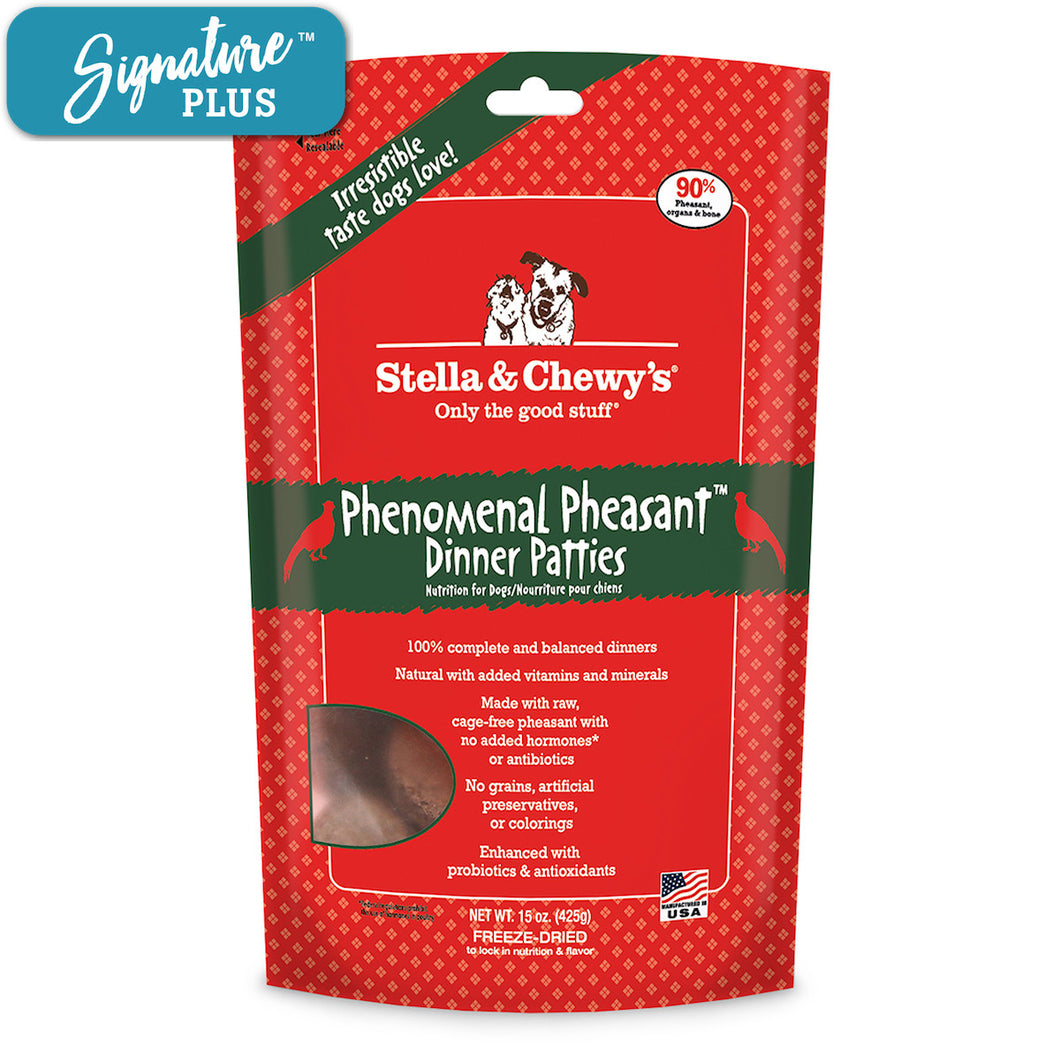 Stella and Chewy's Pheasant Freeze Dried Dog Food