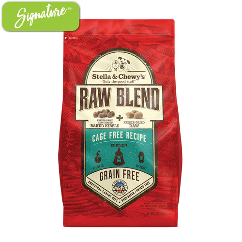 Stella and Chewy's Raw Blend Cage Free Dog Food