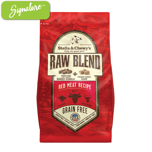 Stella and Chewy's Raw Blend Red Meat Dog Food