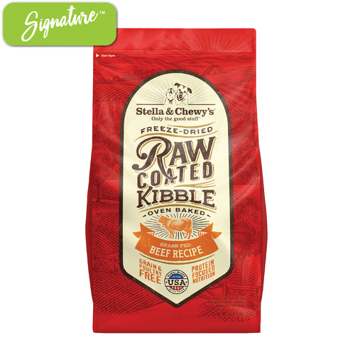 Stella and Chewy's Raw Coated Beef Kibble Dog Food