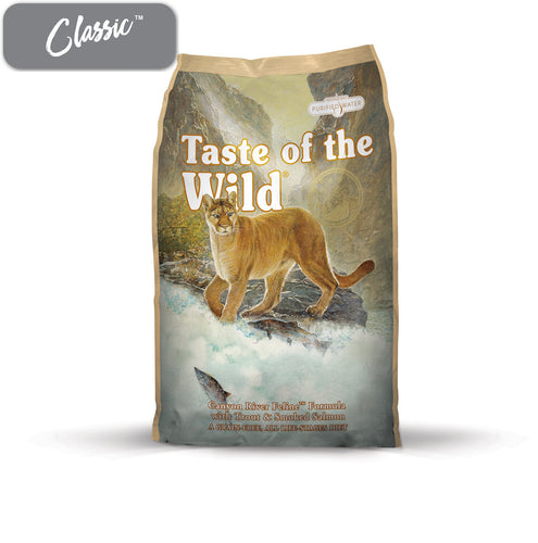 TOTW Canyon River Trout and Smoked Salmon Cat Food