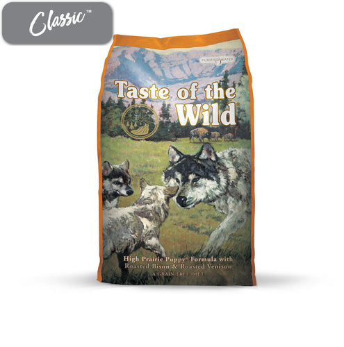 TOTW High Prairie Roasted Venison and Bison Puppy Food