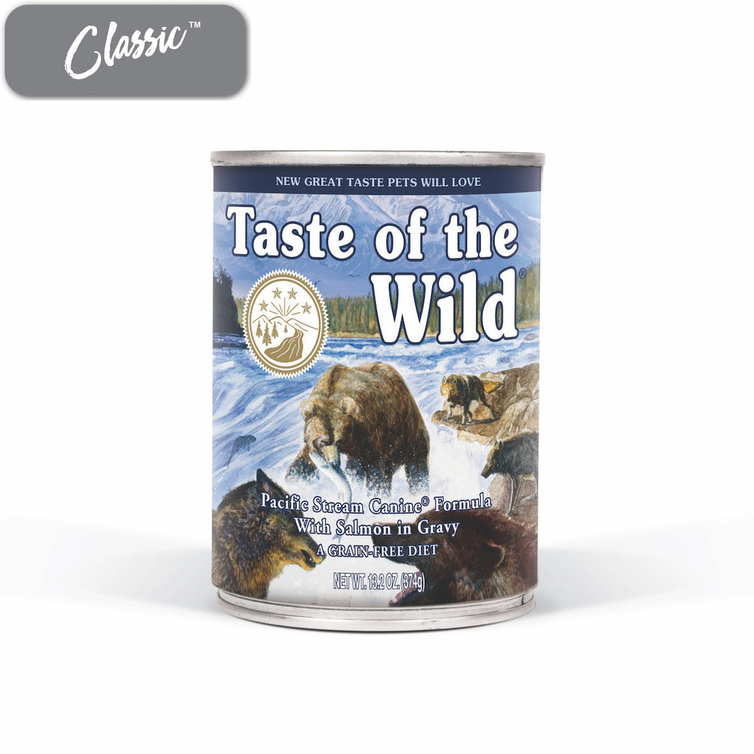 TOTW Pacific Stream Salmon Dog Cans
