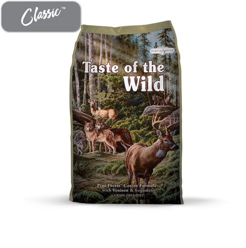 TOTW Pine Forest Venison and Legumes Dog Food