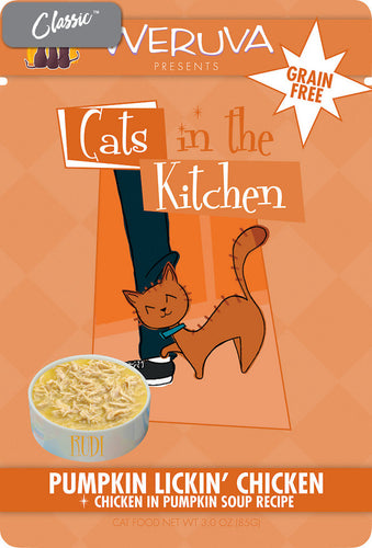 Weruva Cats In The Kitchen Pumpkin Lickin' Chicken Cat Pouches