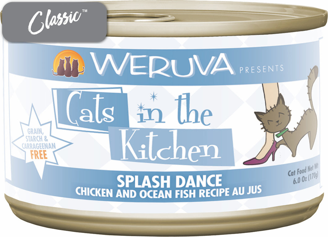 Weruva Cats In The Kitchen Splash Dance Cat Cans