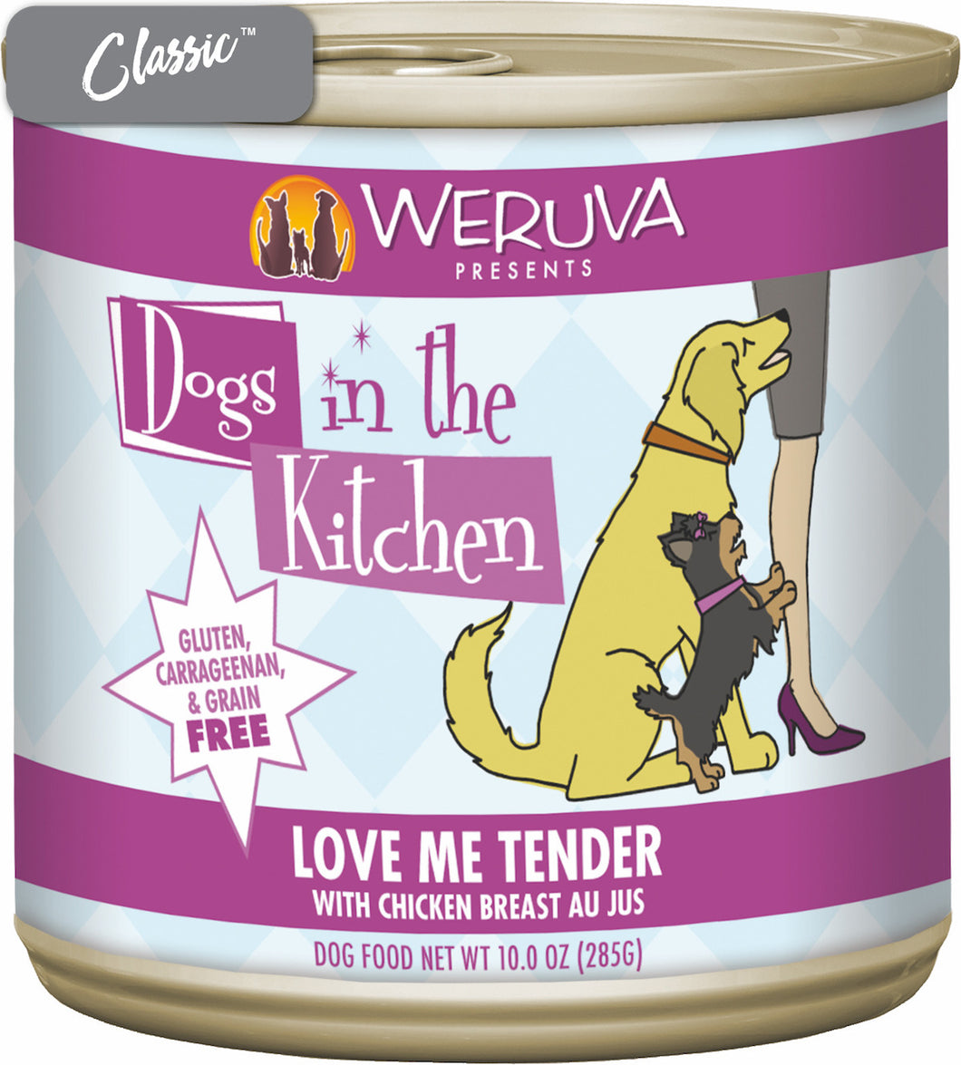 Weruva Dogs In The Kitchen Love Me Tender With Chicken Dog Cans