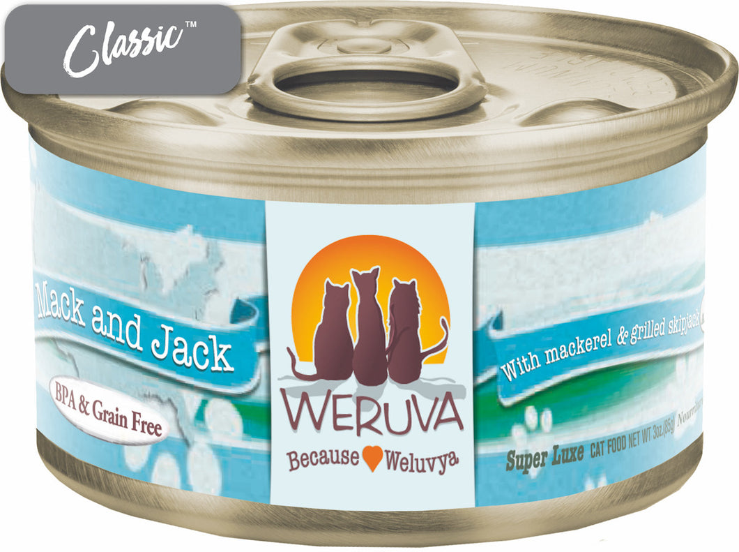 Weruva Mack and Jack Cat Cans