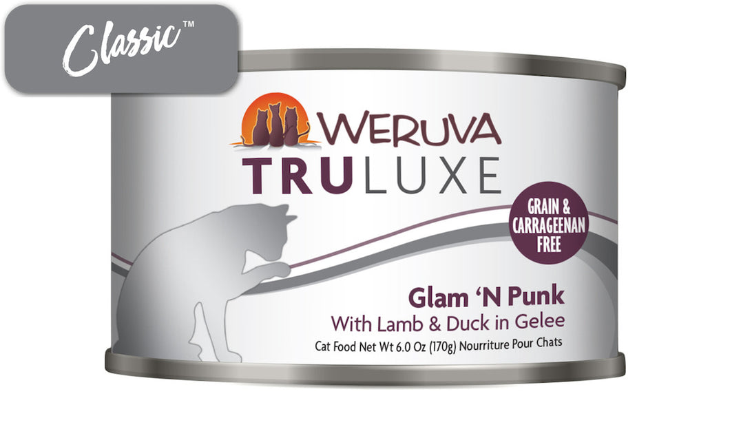 Weruva Truluxe Glam 'N' Punk With Lamb and Duck Cat Cans