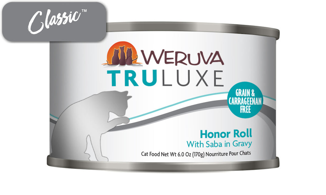 Weruva Truluxe Honor Roll With Saba Gravy Cat Cans