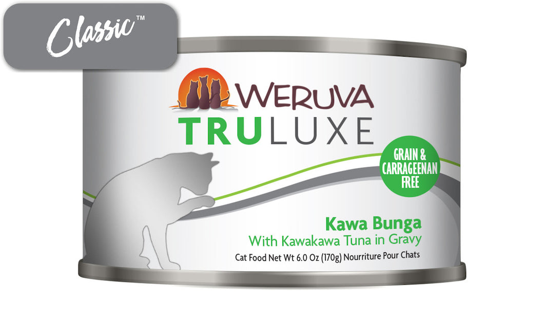 Weruva Truluxe Kawa Booty With Kawakawa Tuna In Gravy Cat Cans