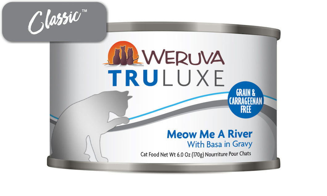 Weruva Truluxe Meow Me A River With Basa Cat Cans