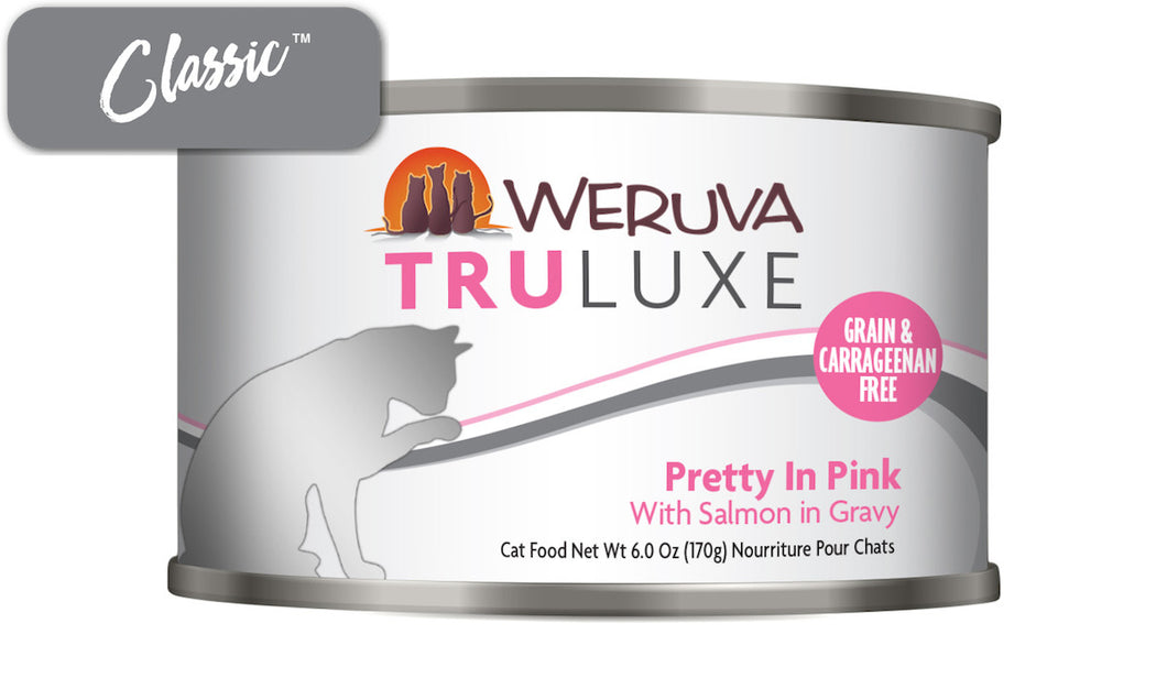 Weruva Truluxe Pretty In Pink With Salmon Gravy Cat Cans