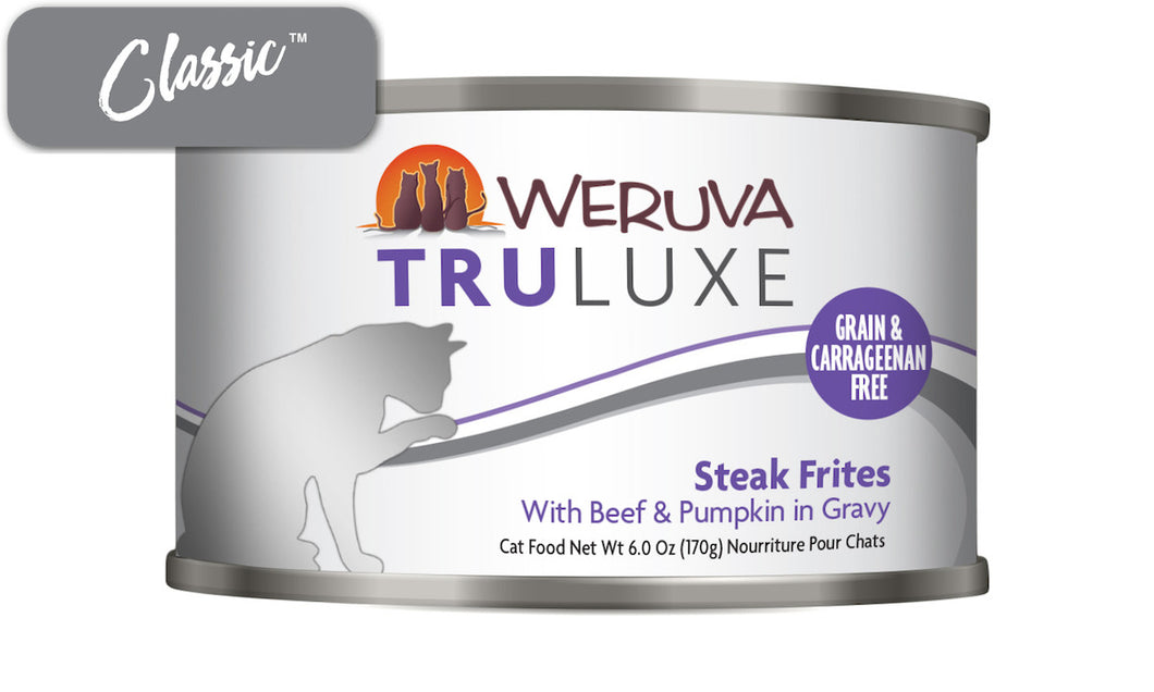 Weruva Truluxe Steak Frites Cat Cans