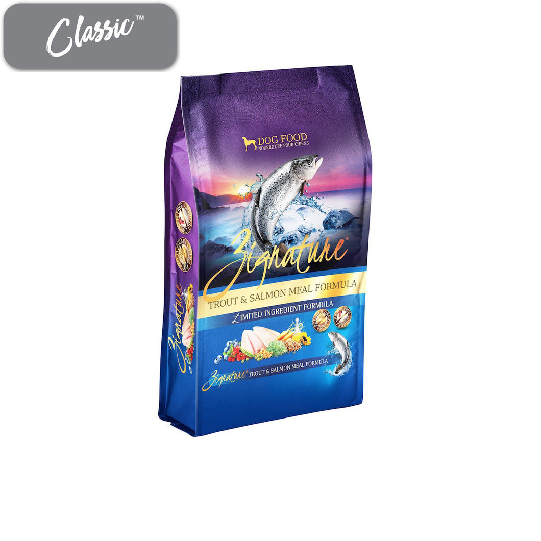 Zignature Trout and Salmon Dog Food
