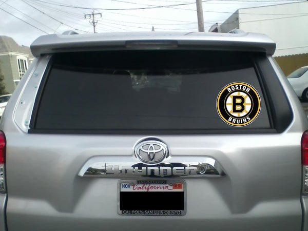 Boston Bruins Circle Logo Vinyl Decal / Sticker 5 Sizes!!!