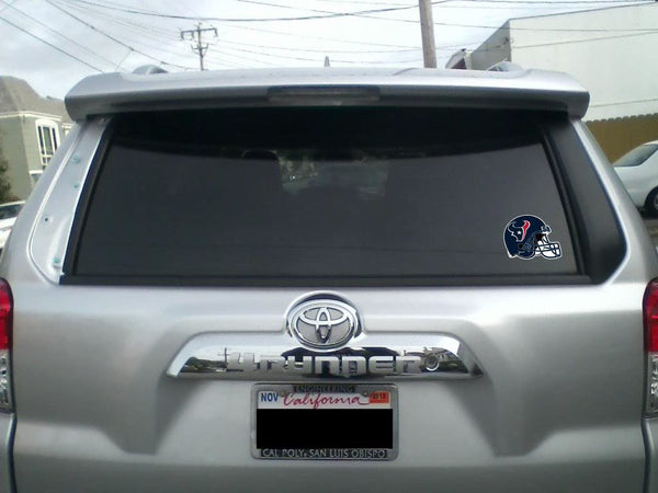 Houston Texans  Helmet Sticker Vinyl Decal / Sticker 5 sizes!!