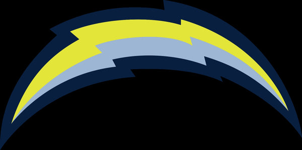 Los Angeles Chargers Alternate Future logo Vinyl Decal / Sticker 5 sizes!!