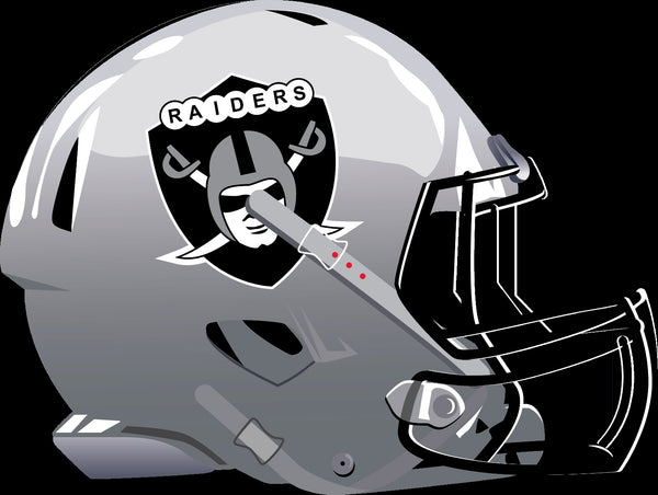 Las Vegas Raiders Alternate Future Helmet logo Vinyl Decal / Sticker 5 sizes!!