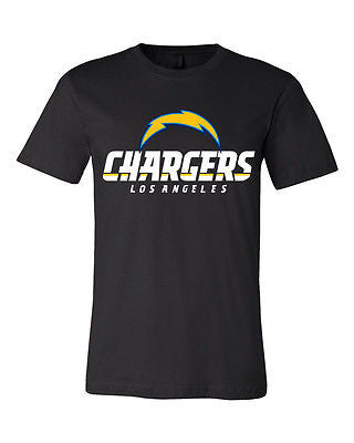 Los Angeles Chargers NFL Team Shirt Bolt Shirt - Sportz For Less