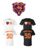 Mike Singletary #50 Chicago Bears  Jersey player shirt