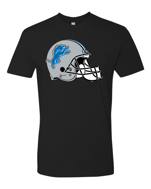 Detroit Lions Helmet  Team Shirt jersey shirt - Sportz For Less
