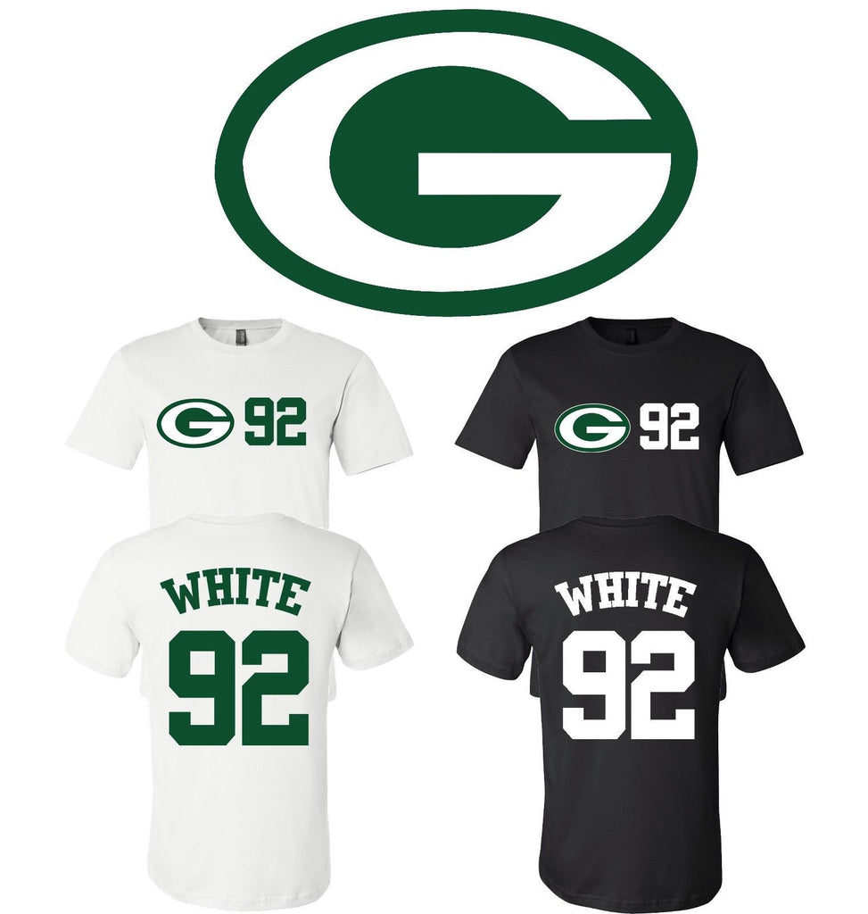 newest a26d6 43628 Reggie White #92 Green Bay Packers Jersey player shirt